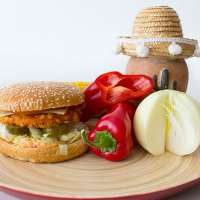 Chrispy Chicken Burger